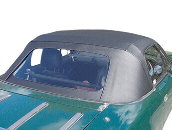 Vinyl Hood with PVC Window, Black, MX5 Mk1 1989>1998