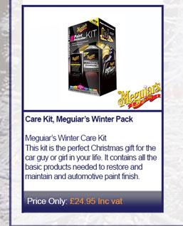 Care Kit, Meguiar's Winter Pack