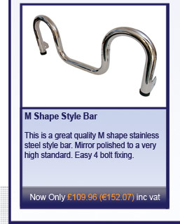 M Shape Style Bar