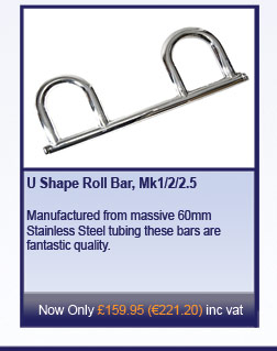 U Shape Roll Bar, Mk1/2/2.5